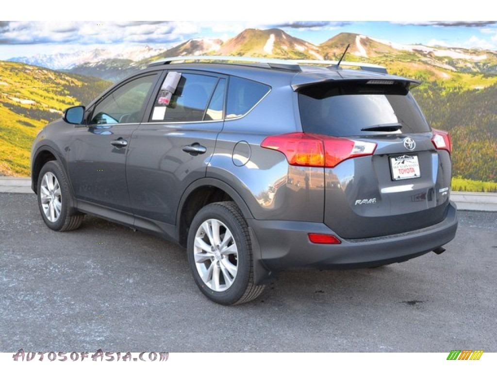 2015 toyota rav4 limited awd in magnetic gray metallic photo 3 255536 autos of asia. Black Bedroom Furniture Sets. Home Design Ideas