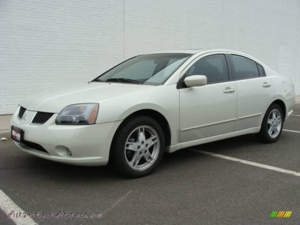 2005 mitsubishi galant gts v6 in dover white pearl 043548 autos of asia japanese and. Black Bedroom Furniture Sets. Home Design Ideas