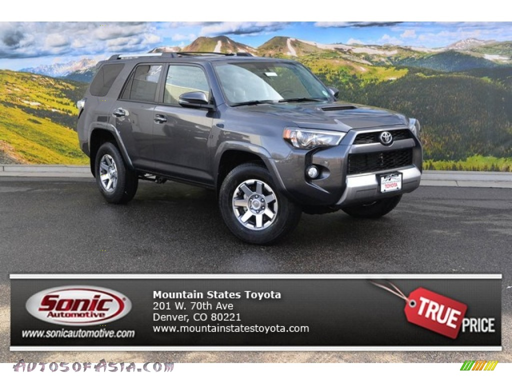 2015 toyota 4runner trail premium 4x4 in magnetic gray metallic 230759 autos of asia. Black Bedroom Furniture Sets. Home Design Ideas