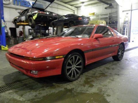 Super Red 1988 Toyota Supra Coupe
