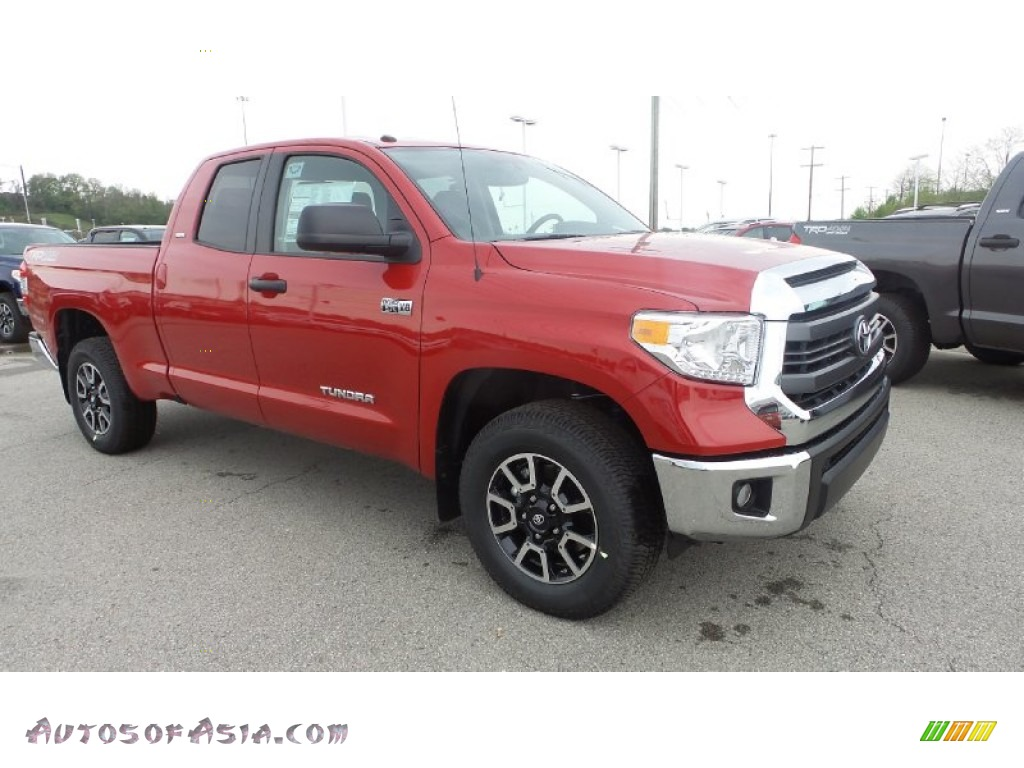 2015 toyota tundra sr5 double cab 4x4 in barcelona red metallic 464562 autos of asia. Black Bedroom Furniture Sets. Home Design Ideas