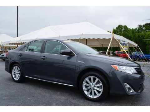 2015 Toyota Camry Hybrid Xle In Cosmic Gray Mica 150297