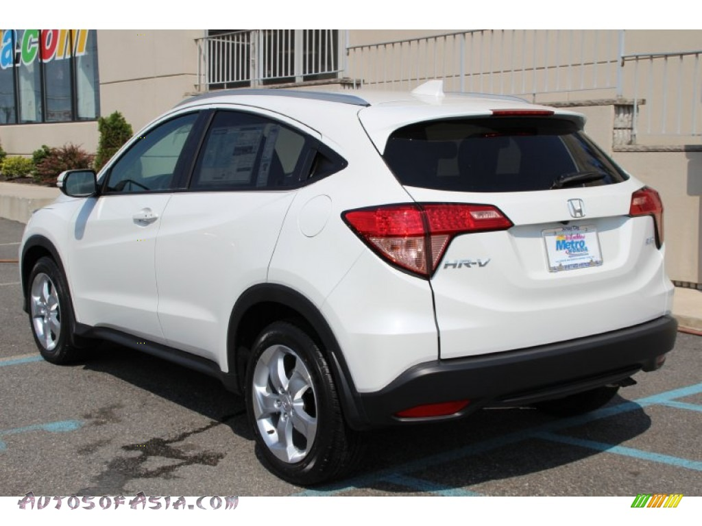 2016 Honda Hr V Lx Awd In White Orchid Pearl Photo 2