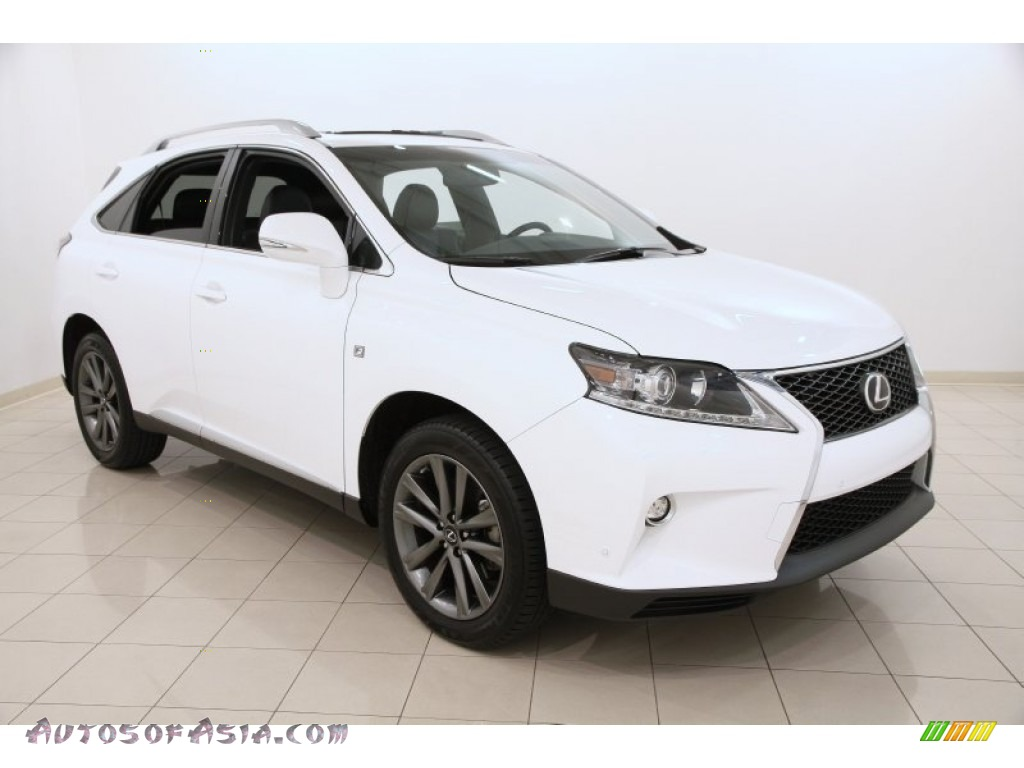 2015 lexus rx 350 f sport awd in ultra white 303089 autos of asia japanese and korean cars. Black Bedroom Furniture Sets. Home Design Ideas