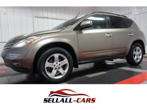 Polished Pewter Metallic 2003 Nissan Murano SL AWD