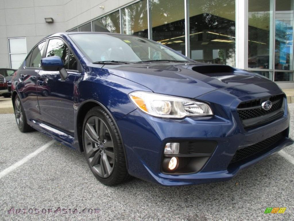 2016 Subaru WRX Premium in Lapis Blue Pearl - 802086 ...