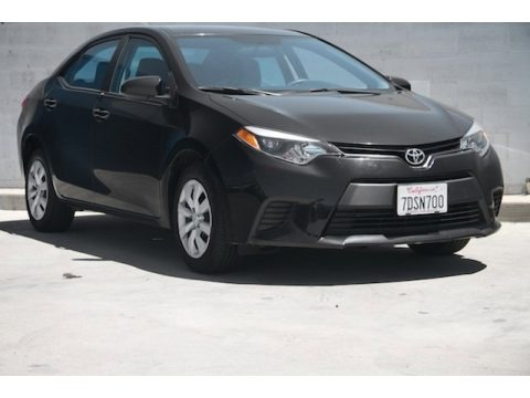 Black Sand Pearl 2014 Toyota Corolla LE