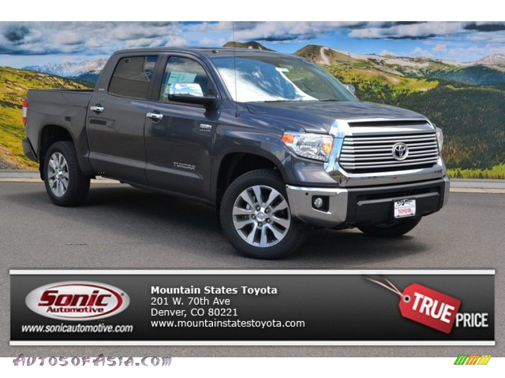 2015 toyota tundra limited crewmax 4x4 in magnetic gray metallic 482364 autos of asia. Black Bedroom Furniture Sets. Home Design Ideas