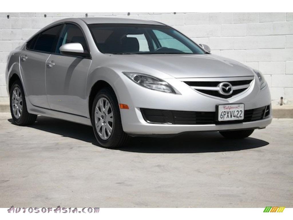 2011 MAZDA6 i Sport Sedan - Ingot Silver / Black photo #1
