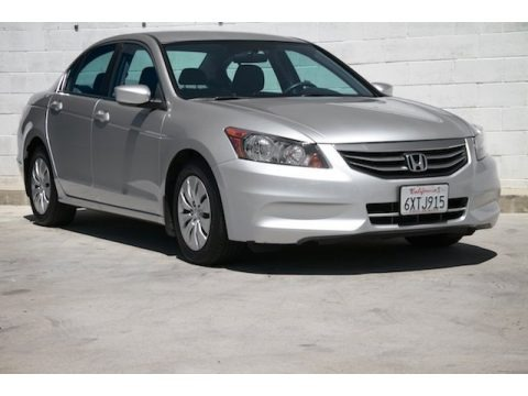 Alabaster Silver Metallic 2012 Honda Accord LX Sedan
