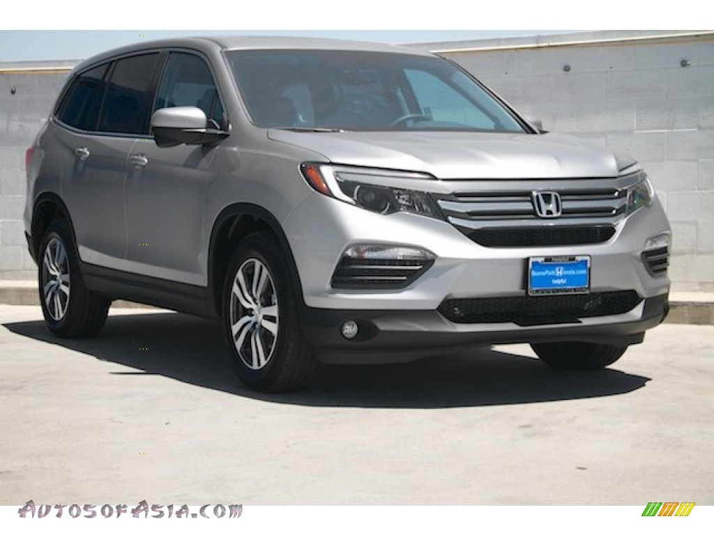 2016 honda pilot ex l awd in lunar silver metallic 016602 autos of asia japanese and. Black Bedroom Furniture Sets. Home Design Ideas
