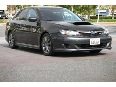 Dark Gray Metallic 2010 Subaru Impreza WRX Sedan
