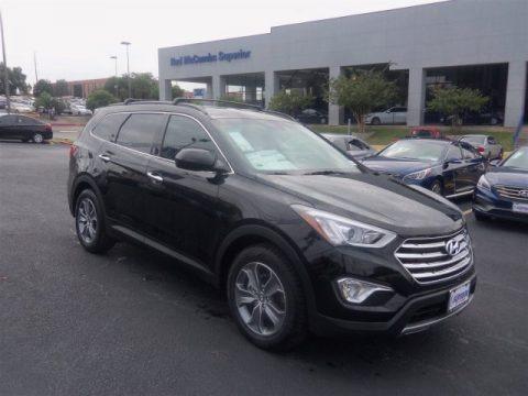 Becketts Black 2016 Hyundai Santa Fe SE