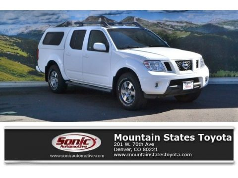 Avalanche White 2012 Nissan Frontier Pro-4X Crew Cab 4x4