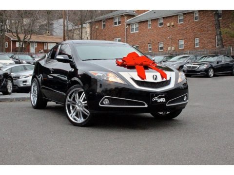 Crystal Black Pearl 2011 Acura ZDX Technology SH-AWD