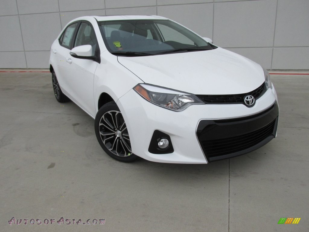 2016 toyota corolla s plus in super white 448881 autos. Black Bedroom Furniture Sets. Home Design Ideas