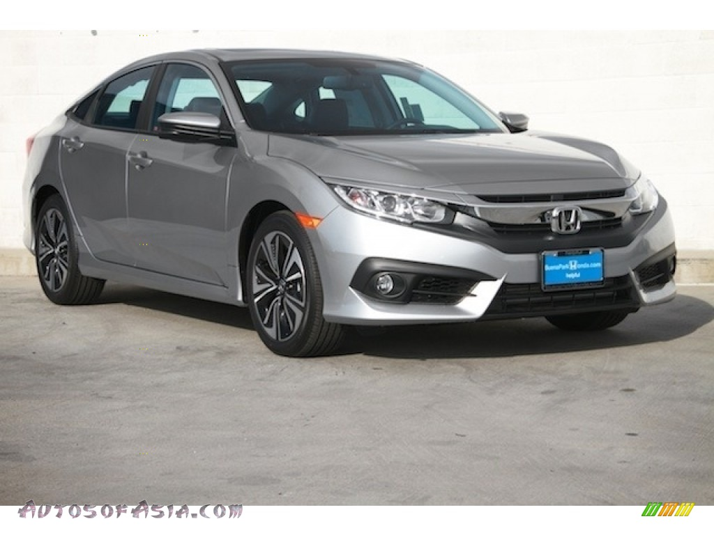 2016 honda civic ex l sedan in lunar silver metallic 636769 autos of asia japanese and. Black Bedroom Furniture Sets. Home Design Ideas