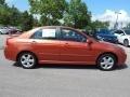 Kia Spectra SX Sedan Electric Orange photo #1