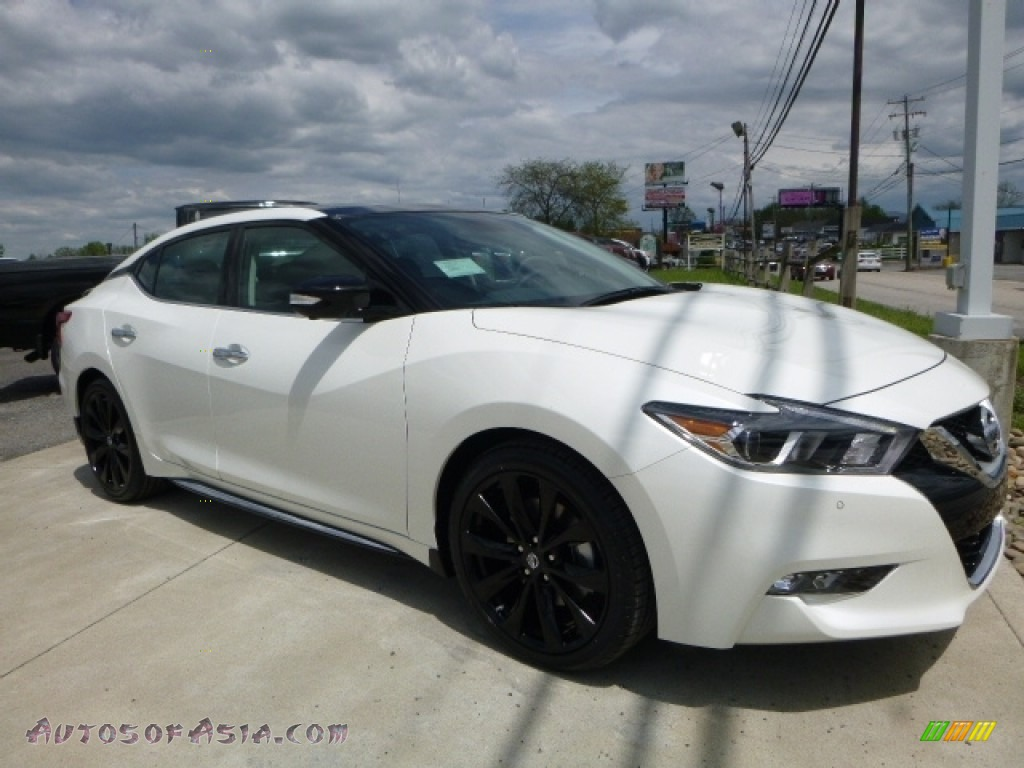 2016 nissan maxima platinum in pearl white photo 19 902081 autos of asia japanese and. Black Bedroom Furniture Sets. Home Design Ideas