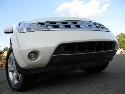 Glacier Pearl White 2005 Nissan Murano SL AWD