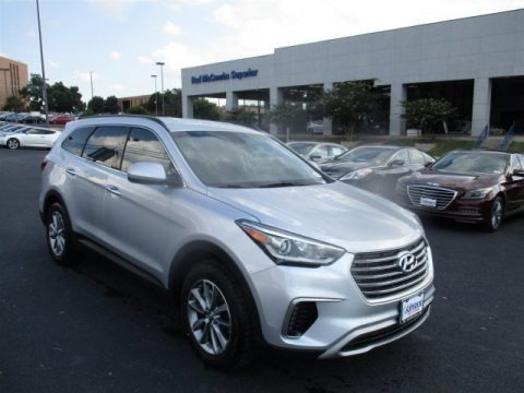 Circuit Silver 2017 Hyundai Santa Fe SE