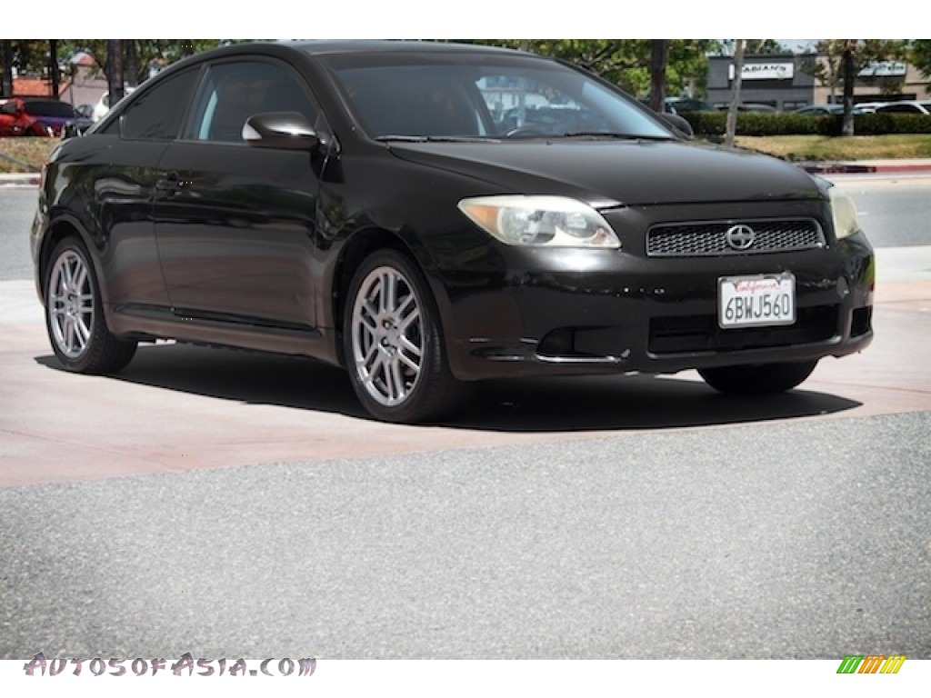Black Sand Pearl / Dark Charcoal Scion tC