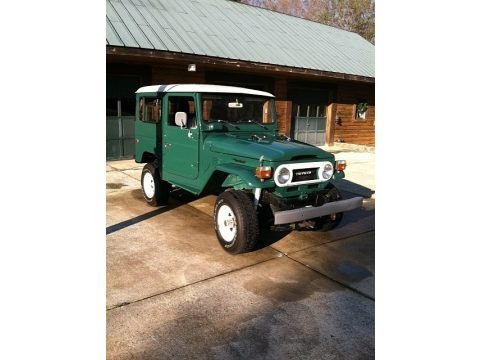 Rustic Green 1977 Toyota Land Cruiser FJ40