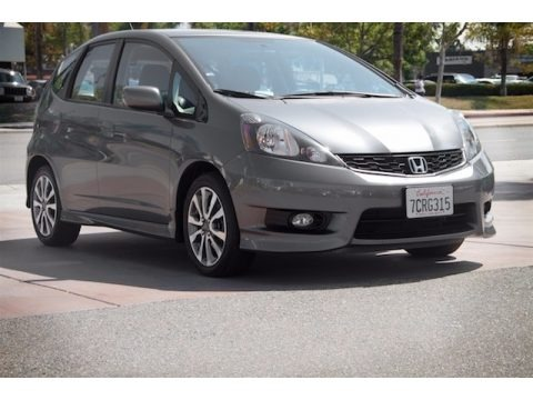 Polished Metal Metallic 2013 Honda Fit Sport