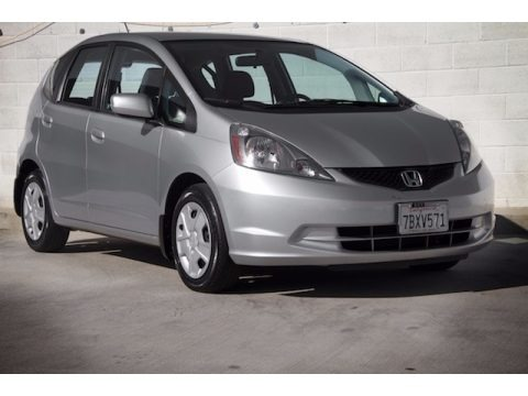 Alabaster Silver Metallic 2013 Honda Fit