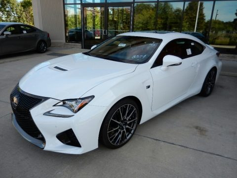 Ultra White 2016 Lexus RC F Coupe