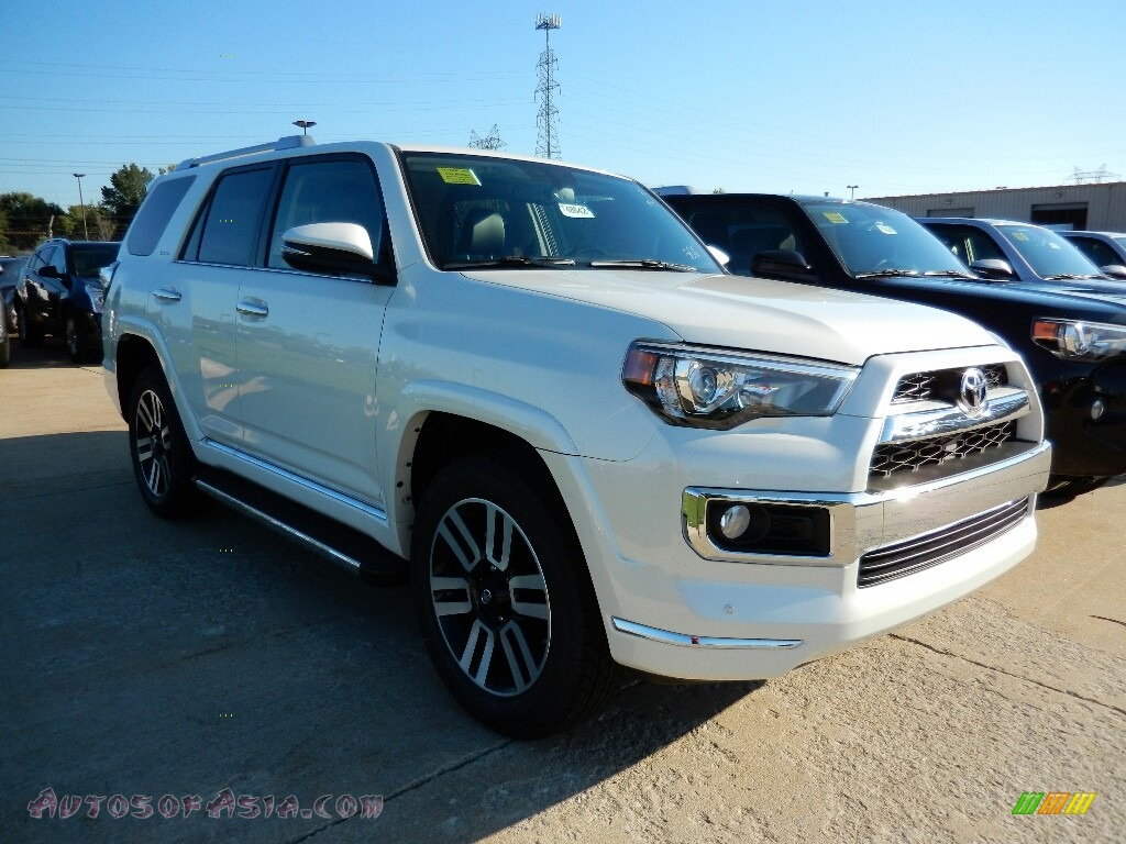 2016 toyota 4runner limited 4x4 in blizzard white pearl 366450 autos of asia japanese and. Black Bedroom Furniture Sets. Home Design Ideas