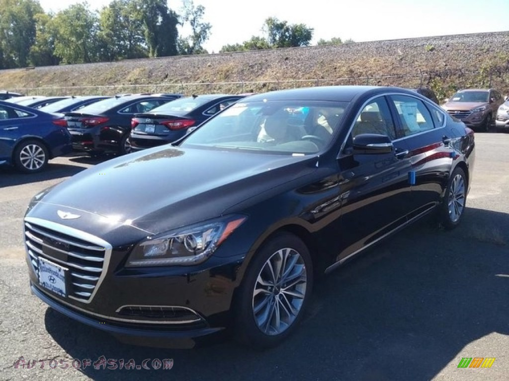 2017 hyundai genesis g80 awd in caspian black 177732 autos of asia japanese and korean. Black Bedroom Furniture Sets. Home Design Ideas