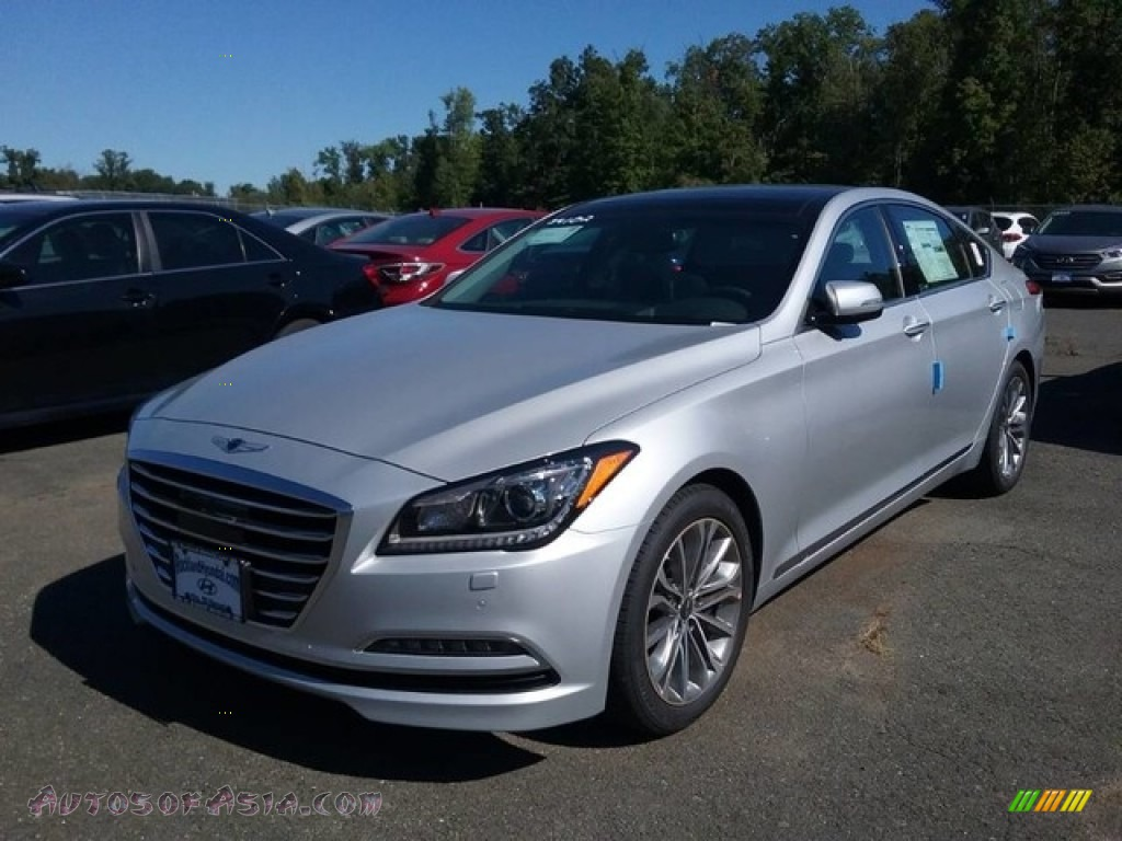 2017 hyundai genesis g80 awd in santiago silver 177730 autos of asia japanese and korean. Black Bedroom Furniture Sets. Home Design Ideas