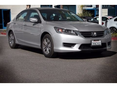 Alabaster Silver Metallic 2015 Honda Accord LX Sedan