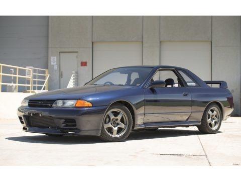 Gun Grey Metallic 1990 Nissan Skyline GT-R Coupe