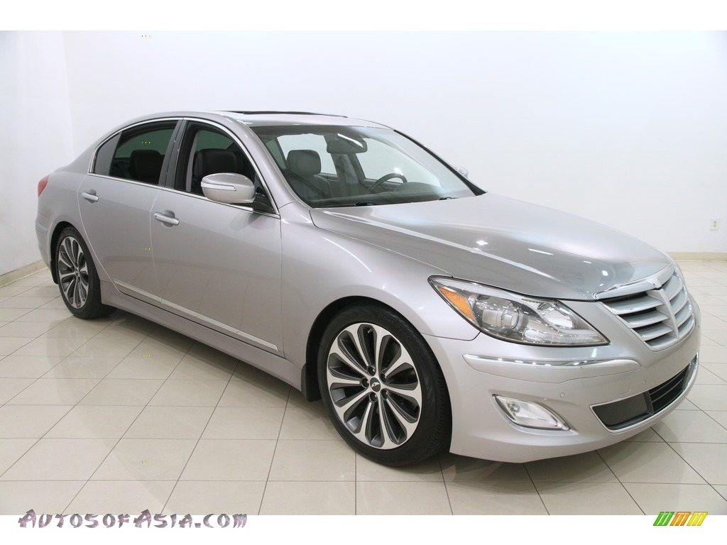 2013 hyundai genesis 5 0 r spec sedan in titanium gray metallic 231700 autos of asia. Black Bedroom Furniture Sets. Home Design Ideas