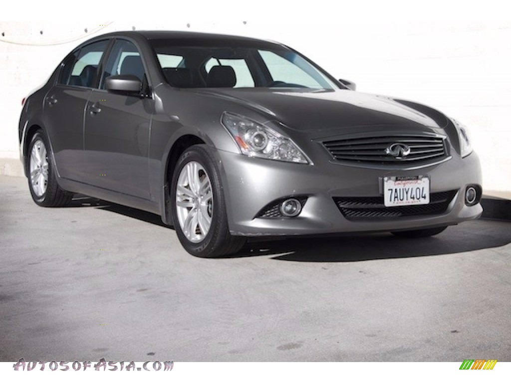 2013 G 37 Journey Sedan - Graphite Shadow / Graphite photo #1