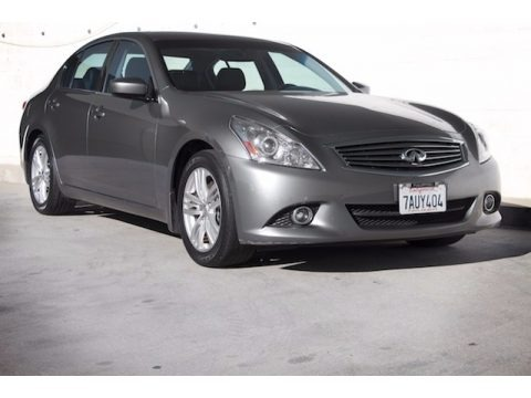 Graphite Shadow 2013 Infiniti G 37 Journey Sedan