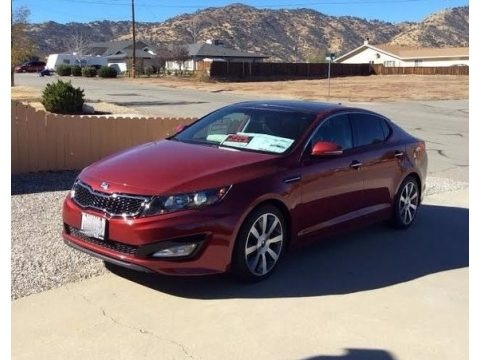 Remington Red 2013 Kia Optima SX