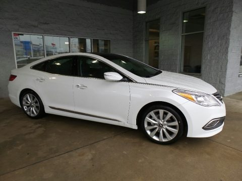 Diamond White Pearl 2017 Hyundai Azera Limited