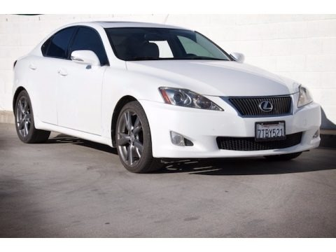 Starfire White Pearl 2010 Lexus IS 250