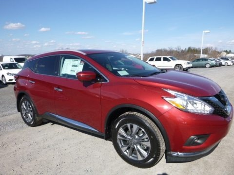 Cayenne Red 2017 Nissan Murano SL AWD