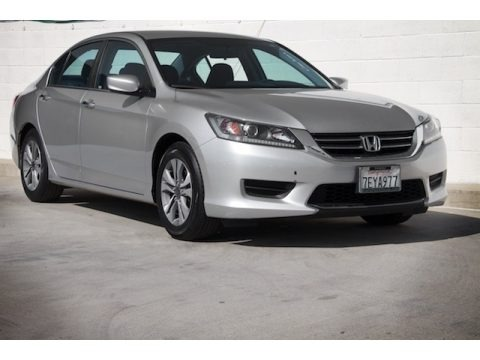 Alabaster Silver Metallic 2014 Honda Accord LX Sedan