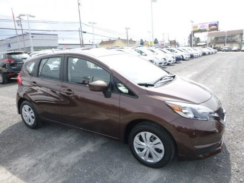 Cocoa Embers 2017 Nissan Versa Note SV