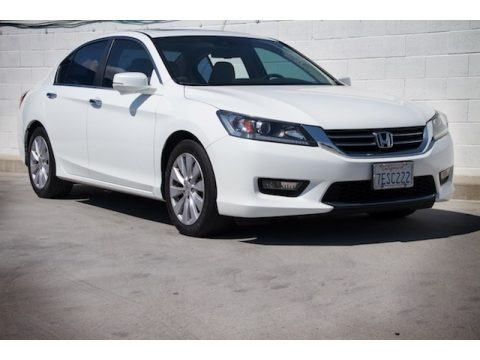 White Orchid Pearl 2014 Honda Accord EX-L Sedan