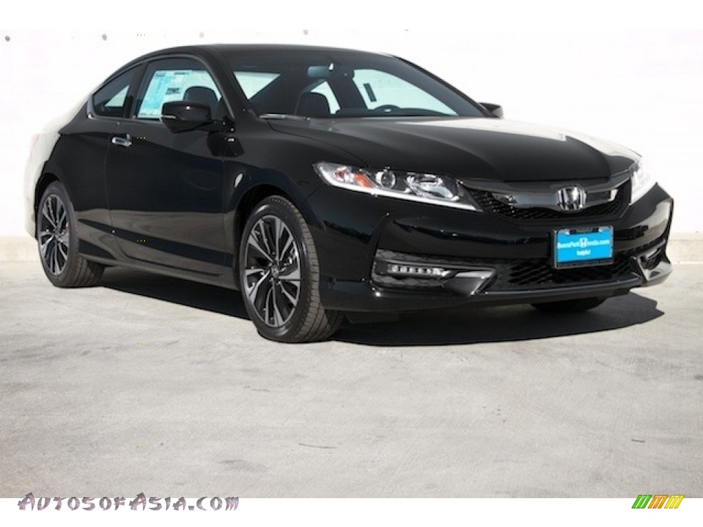 2017 Honda Accord EX-L V6 Coupe in Crystal Black Pearl ...