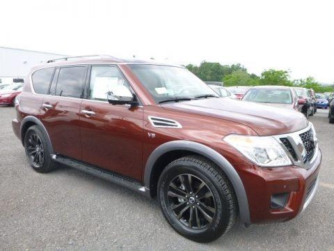 Forged Copper 2017 Nissan Armada Platinum 4x4