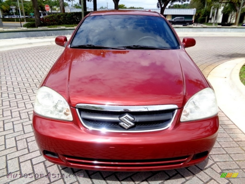 2008 Forenza  - Fusion Red Metallic / Grey photo #58