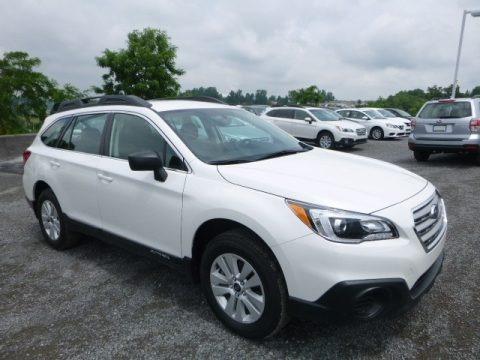 Crystal White Pearl 2017 Subaru Outback 2.5i