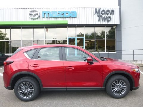 Soul Red Metallic 2017 Mazda CX-5 Sport AWD